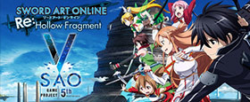 Sword Art Online Re: Hollow Fragment