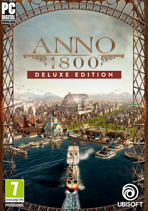 Anno 1800 - Deluxe - Cover / Packshot
