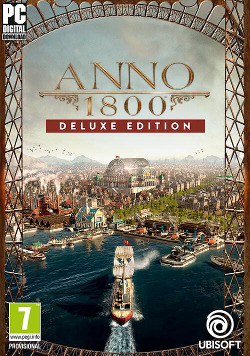 Anno 1800 - Deluxe - Cover