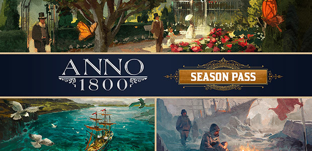 Anno 1800 - Year 1 Pass - Cover / Packshot