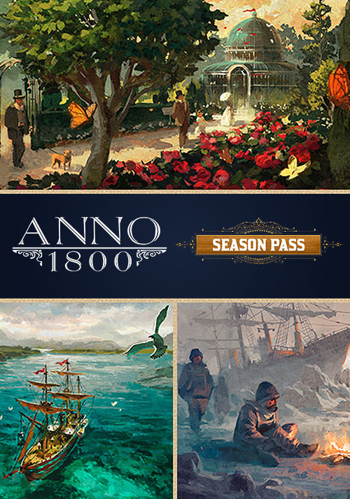 Anno 1800 - Season 1 Pass - Cover / Packshot