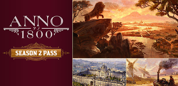 Anno 1800 - Year 2 Pass - Cover / Packshot