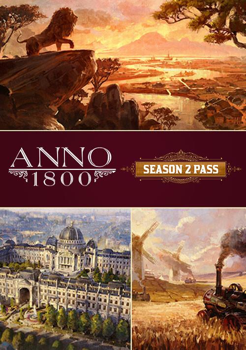 Anno 1800 - Season 2 Pass - Cover / Packshot