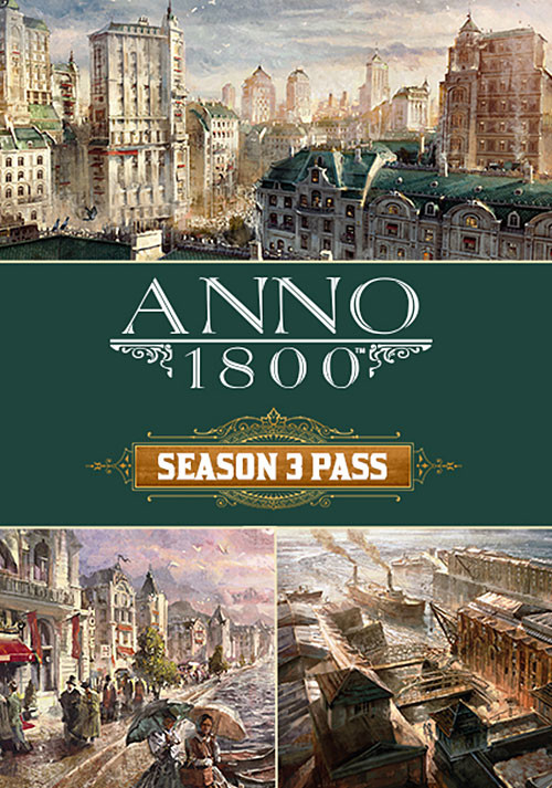 Anno 1800 - Season 3 Pass - Cover / Packshot