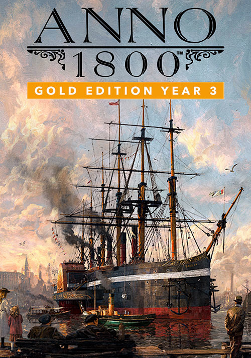 Anno 1800 - Gold Edition Year 3 - Cover / Packshot