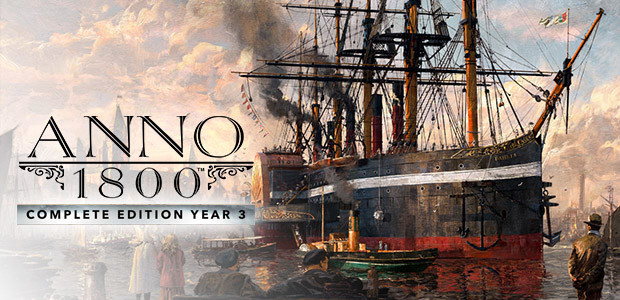 Anno 1800 - Complete Edition Year 3 - Cover / Packshot