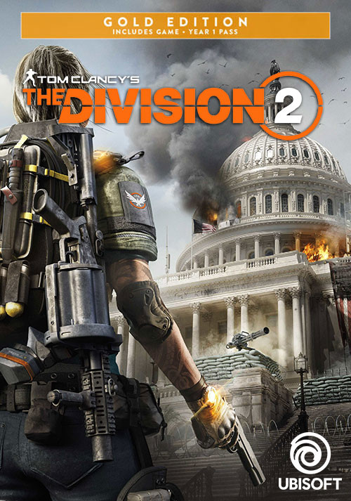Tom Clancy's The Division 2 - Gold Edition - Cover