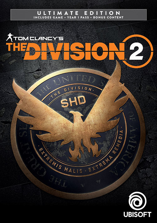 Tom Clancy's The Division 2 - Ultimate Edition - Cover / Packshot