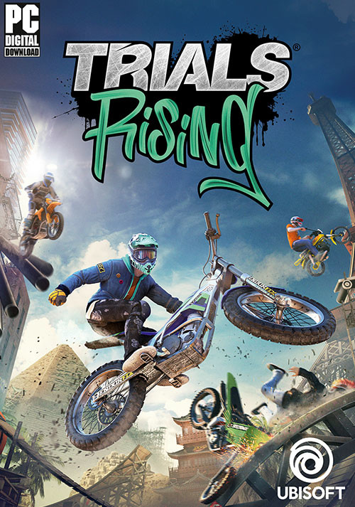 Trials Rising - Cover / Packshot