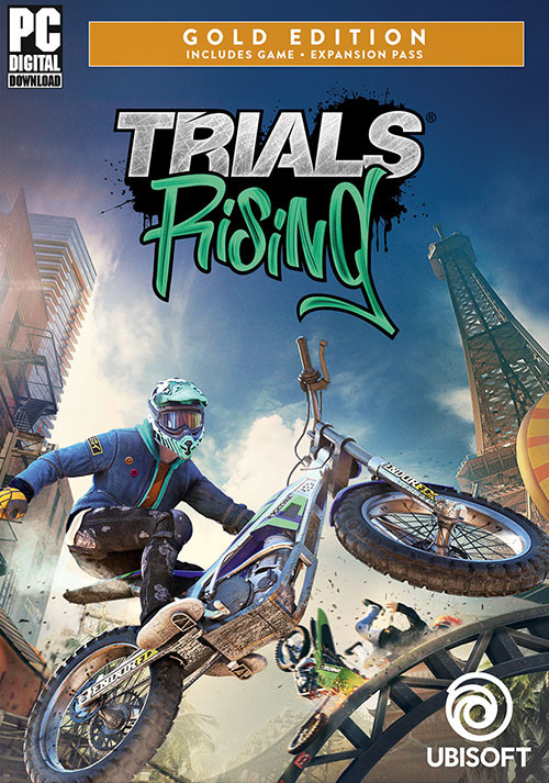 Trials Rising - Gold - Cover / Packshot