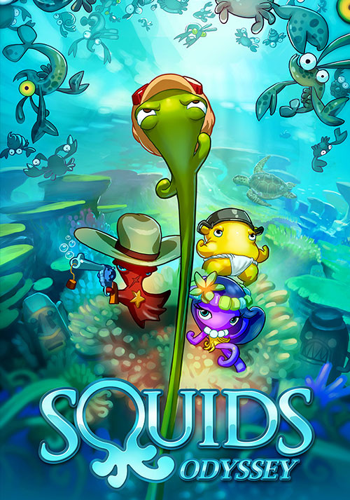 Squids Odyssey - Cover / Packshot