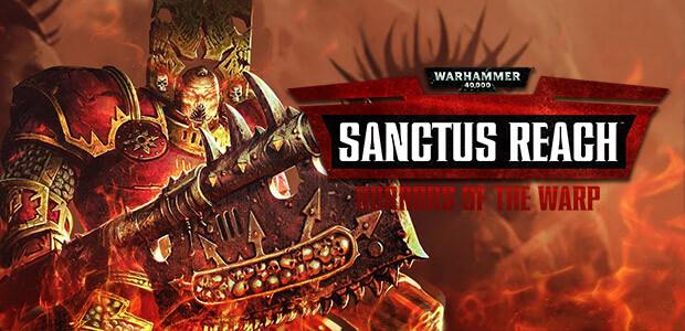 Warhammer 40,000: Sanctus Reach - Horrors of the Warp - Cover / Packshot