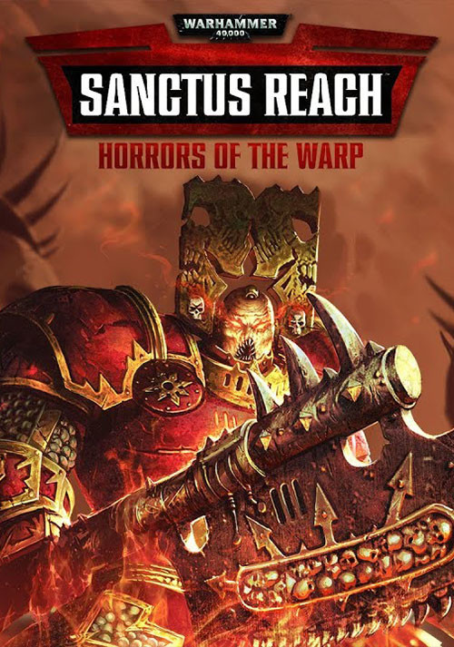 Warhammer 40,000: Sanctus Reach - Horrors of the Warp - Cover