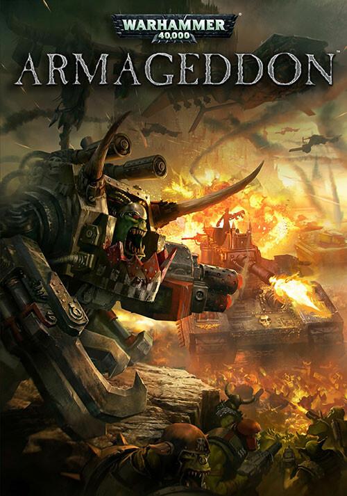 Warhammer 40,000: Armageddon - Cover / Packshot