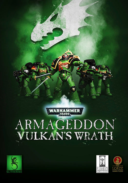 Warhammer 40,000: Armageddon - Vulkan's Wrath - Cover