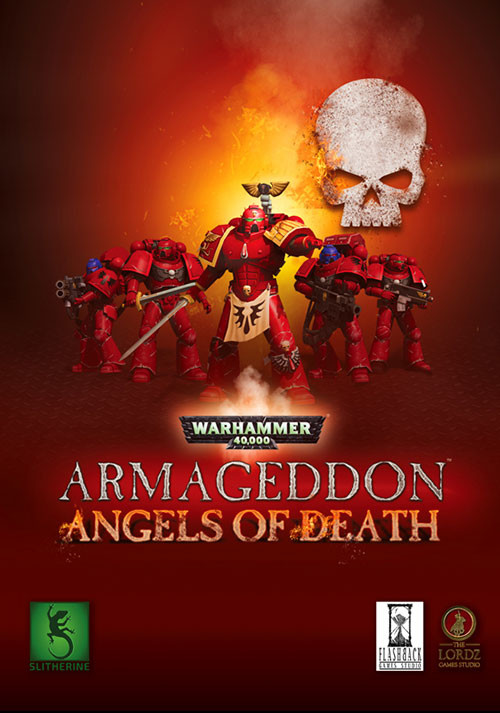 Warhammer 40,000: Armageddon - Angels of Death - Cover