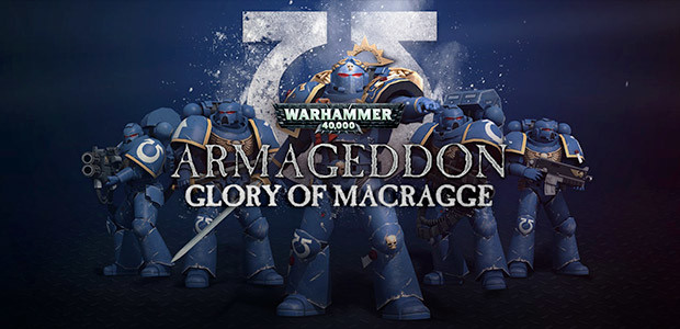 Warhammer 40,000: Armageddon - Glory of Macragge - Cover / Packshot