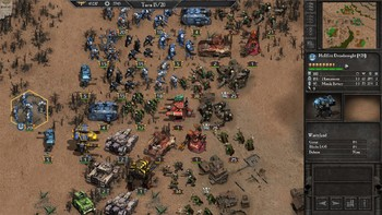Screenshot3 - Warhammer 40,000: Armageddon - Glory of Macragge