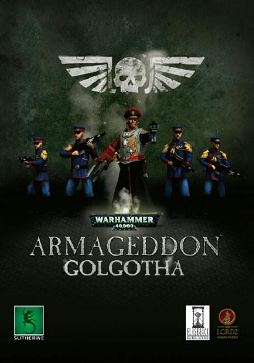 Warhammer 40,000: Armageddon - Golgotha - Cover / Packshot
