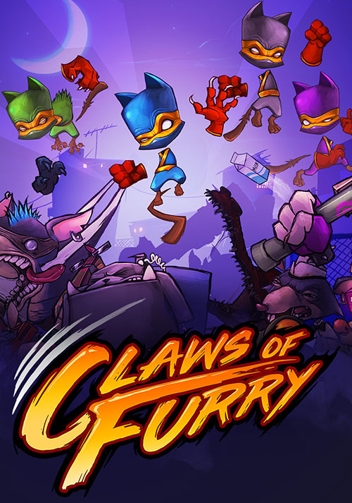 Claws of Furry - Cover / Packshot