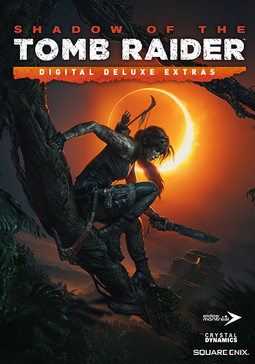 Shadow of the Tomb Raider - Deluxe Extras - Cover / Packshot