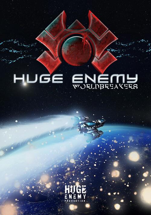 Huge Enemy - Worldbreakers - Cover