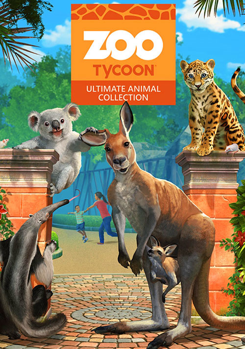 Zoo Tycoon: Ultimate Animal Collection - Cover
