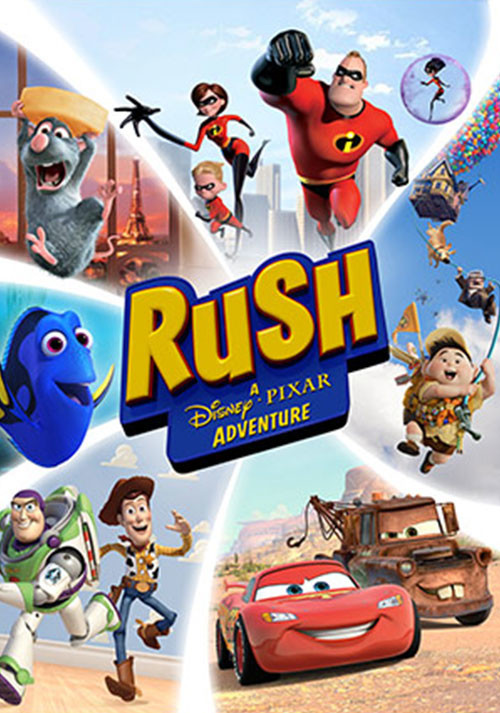RUSH: A Disney • PIXAR Adventure - Cover