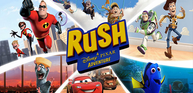 RUSH: A Disney • PIXAR Adventure - Cover / Packshot