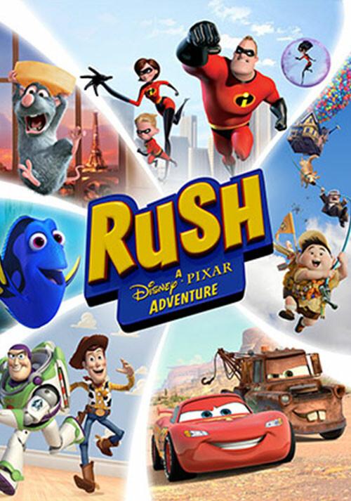 RUSH: A Disney • PIXAR Adventure - Cover / Packshot
