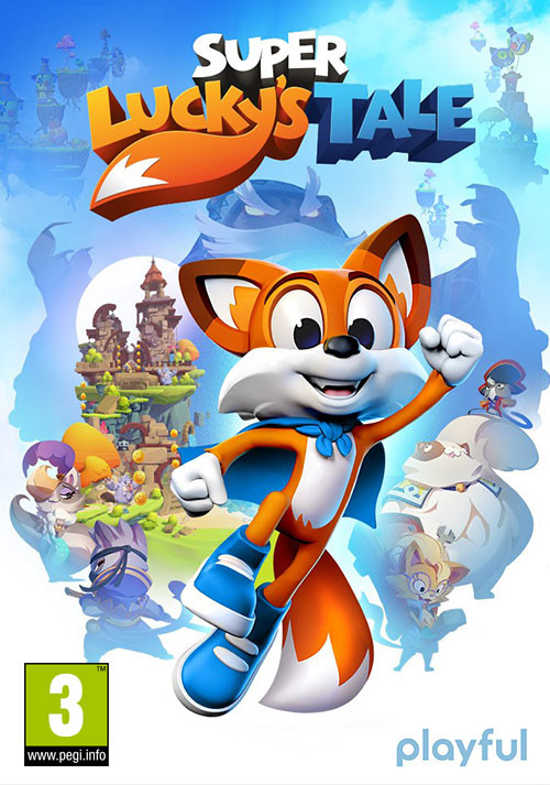 Super Lucky's Tale - Cover