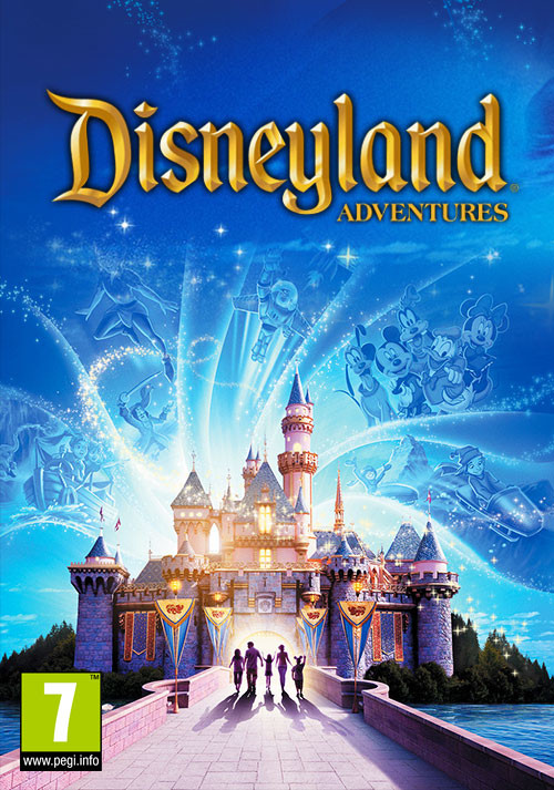 Disneyland Adventures - Cover / Packshot
