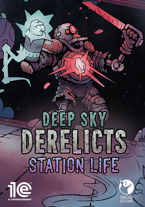 Deep Sky Derelicts: Station Life - Cover / Packshot