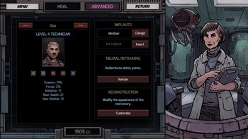 Screenshot1 - Deep Sky Derelicts: Station Life