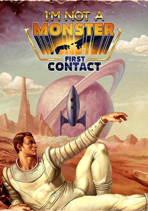 I Am Not A Monster: First Contact - Cover / Packshot
