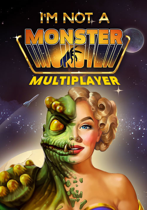 I Am Not A Monster - Multiplayer Version - Cover / Packshot