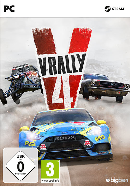 V-Rally 4 - Cover / Packshot