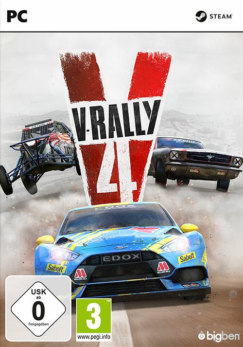 V-Rally 4 - Cover