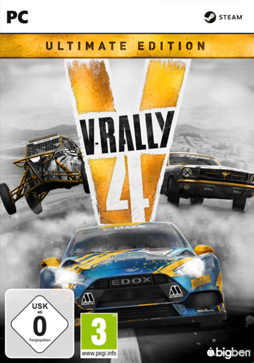 V-Rally 4 Ultimate Edition - Cover / Packshot