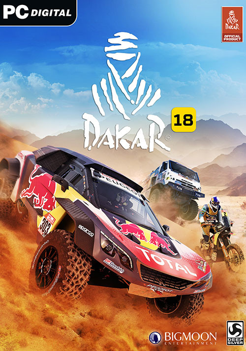 Dakar 18 - Cover / Packshot