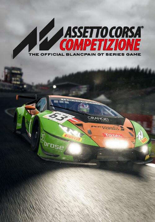 Assetto Corsa Competizione - Cover