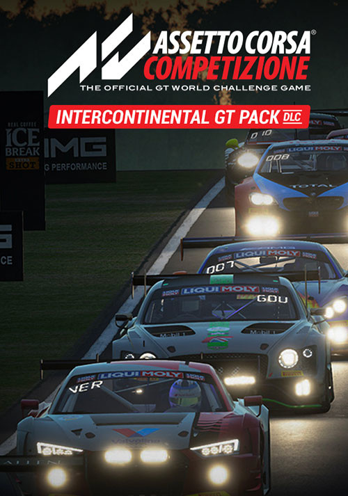 Assetto Corsa Competizione - Intercontinental GT Pack - Cover / Packshot