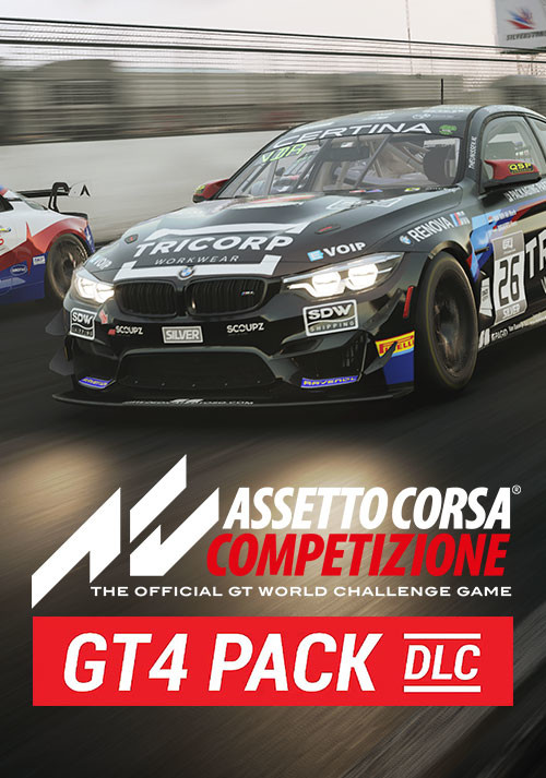 Assetto Corsa Competizione GT4 Pack - Cover / Packshot