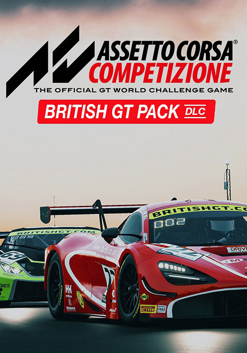 Assetto Corsa Competizione British GT Pack - Cover / Packshot