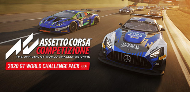 Assetto Corsa Competizione - 2020 GT World Challenge Pack - Cover / Packshot