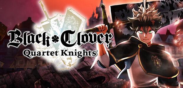 BLACK CLOVER: QUARTET KNIGHTS - Cover / Packshot