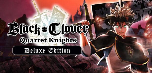 BLACK CLOVER: QUARTET KNIGHTS Deluxe Edition - Cover / Packshot