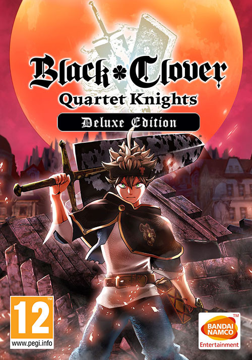 BLACK CLOVER: QUARTET KNIGHTS Deluxe Edition - Cover / Packshot