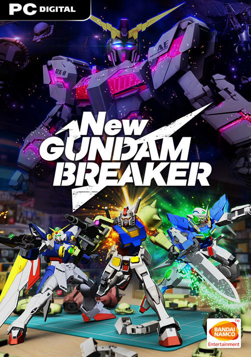 New Gundam Breaker - Cover / Packshot