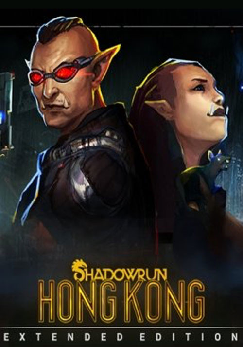 Shadowrun: Hong Kong - Extended Edition - Cover